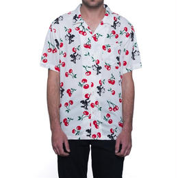HUF / FELIX CHERRY WOVEN SHIRT (NATURAL)