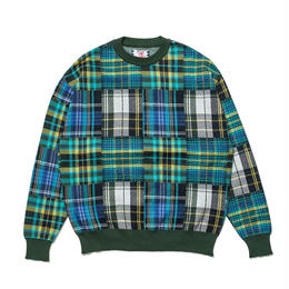 SON OF THE CHEESE / Mandarin C100 knit (GREEN)