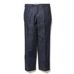 SON OF THE CHEESE / wide tack pants (BLUE)