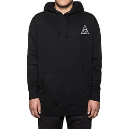 HUF / TRIPLE TRIANGLE PULLOVER FLEECE (BLACK)