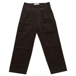 DONTSUKI / CORDUROY PANTS (BROWN)