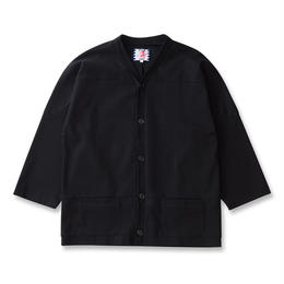 SON OF THE CHEESE / Hockey cardigan  (BLACK)