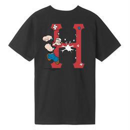 HUF / POPEYE CLASSIC H S/S TEE (BLACK)