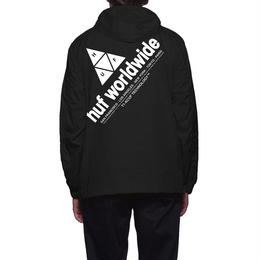 HUF / PEAK ANORAK JACKET (BLACK)