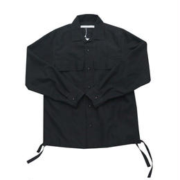 DONTSUKI / 2POCKET SHIRT (BLACK)