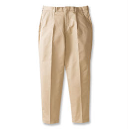 SON OF THE CHEESE / wide tack pants (BEIGE)