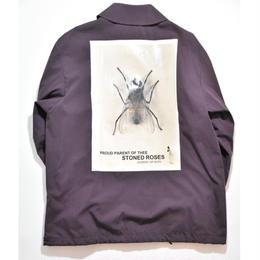 Black Weirdos / Worker Coach Jacket  (Burgundy)