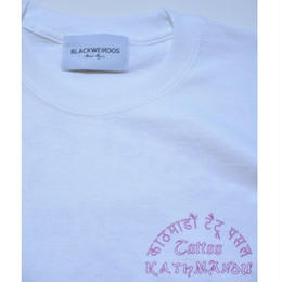 Black Weirdos / Tattoo Shop LS-Tee  (White)