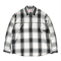 SON OF THE CHEESE / Western check Shirt(GRAY CHECK)
