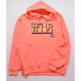 TACORIDE / DOG OF THE YEAR HOODIE (CORAL)