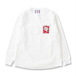 SON OF THE CHEESE / Love hate Long Tee (WHITE)