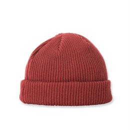 SON OF THE CHEESE / C100 KNIT CAP(WINE)