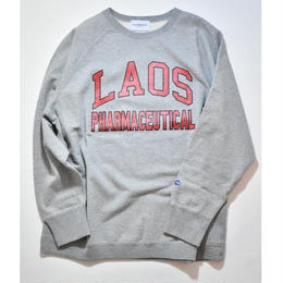 Black Weirdos /  LAOS College Sweat (Gray)