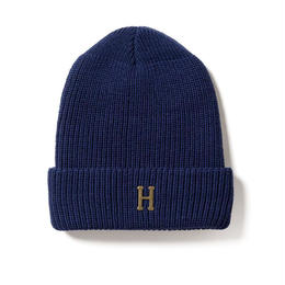 HUF / BRASS H MILITARY BEANIE (NAVY)