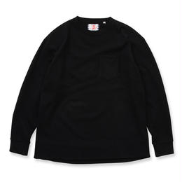 SON OF THE CHEESE / Wool long tee (NAVY)