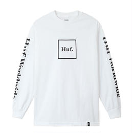 HUF  / DOMESTIC L/S TEE (WHITE)