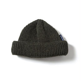 SON OF THE CHEESE / WOOL BEANIE short (OLIVE)