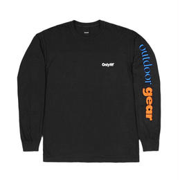 Only NY /  Outdoor Gear L/S T-Shirt (Vintage Black)