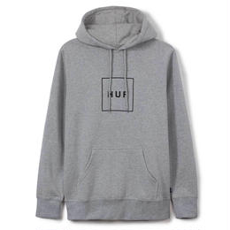HUF / BOX LOGO PULLOVER FLEECE (GRAY HEATHER)