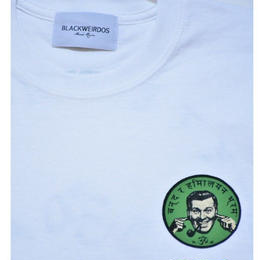 Black Weirdos /  NFP LS-Tee (White)
