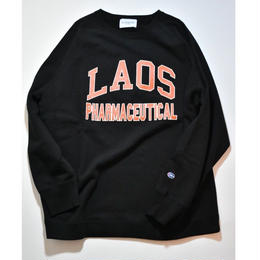 Black Weirdos /  LAOS College Sweat (Black)