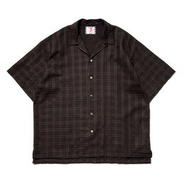 SON OF THE CHEESE / Check SS Shirt(BLACK)