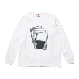 SON OF THE CHEESE / Face commu sleeve (WHITE)