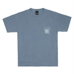 Only NY / Cube Logo T-shirt (Vintage Blue)