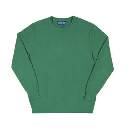 Only NY / Waffle Knit Crewneck Sweater (Fern)