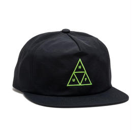 HUF / TRIPLE TRIANGLE SNAPBACK / BLACK