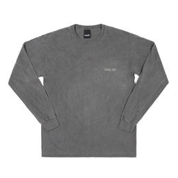 Only NY / Guideline L/S T-Shirt  (Chacoal)