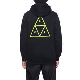 HUF / TRIPLE TRIANGLE PULLOVER HOOD (BLACK)