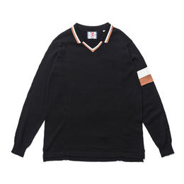 SON OF THE CHEESE / FC-C100 knit (BLACK)