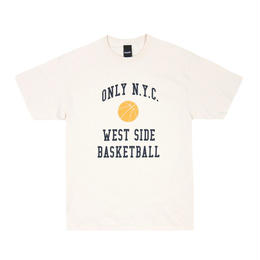Only NY / West Side Baseketball  T-Shirt (Natural)
