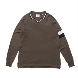 SON OF THE CHEESE / FC-C100 knit (OLIVE)