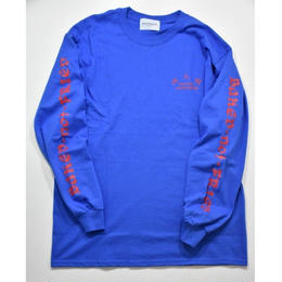 Black Weirdos / MEKONG Long Sleeve Tee  (Blue)