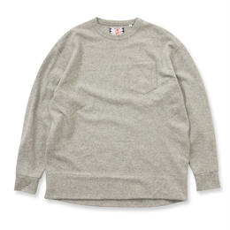 SON OF THE CHEESE / Wool long tee(GRAY)