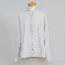 比翼ラッフルシャツ