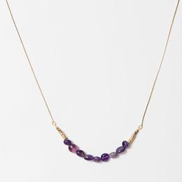 violet ネックレス