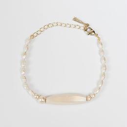Pearl White ブレスレット