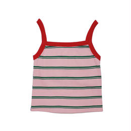 REVERSIBLE KNIT CAMI (pink×beige)