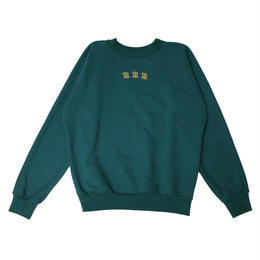 CHECK ELBOW PATCH SWEAT (Green)