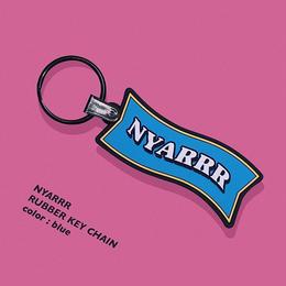 NYARRR  RUBBER KEY CHAIN
