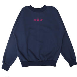 CHECK ELBOW PATCH SWEAT (Navy)
