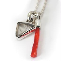 ピンクファイアクォーツ 血赤珊瑚 ペンダント 003