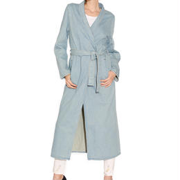 Denim Super Long Coat