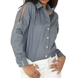 CRYSTAL DENIM SHIRTS