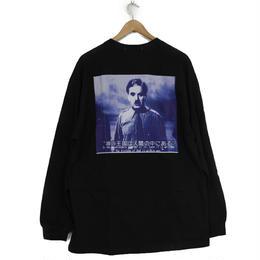 THE DAWN B LOCALIZE IT チャップリン 長袖Tシャツ ブラック