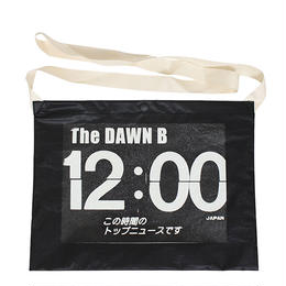 THE DAWN B  × bulbs 超軽量 サコッシュ BLACK/WHITE