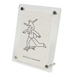 MARK GONZALES  マークゴンザレス 鹿児島 手漉き和紙 フォトフレーム NO.4